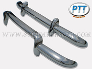 Renault  Dauphine Stainless Steel Bumper