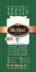 BioBed Eco-Disposable Bed Set For Travel - BioBag